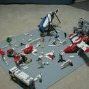Lego Battle Scene 1