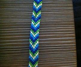 How to Make a Chevron Friendship Bracelet