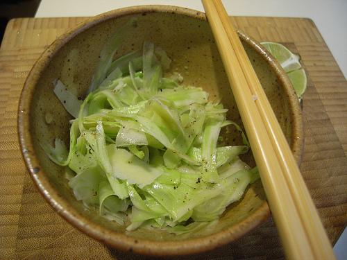 Easy Shaved Broccoli Salad