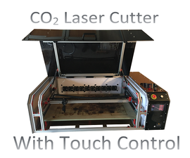 Make Your Own High Quality CO2 Lasercutter! With Touch Control!