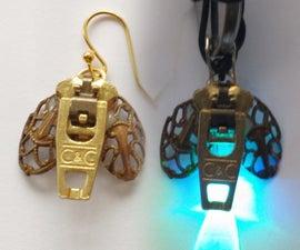 LED Firefly Earrings