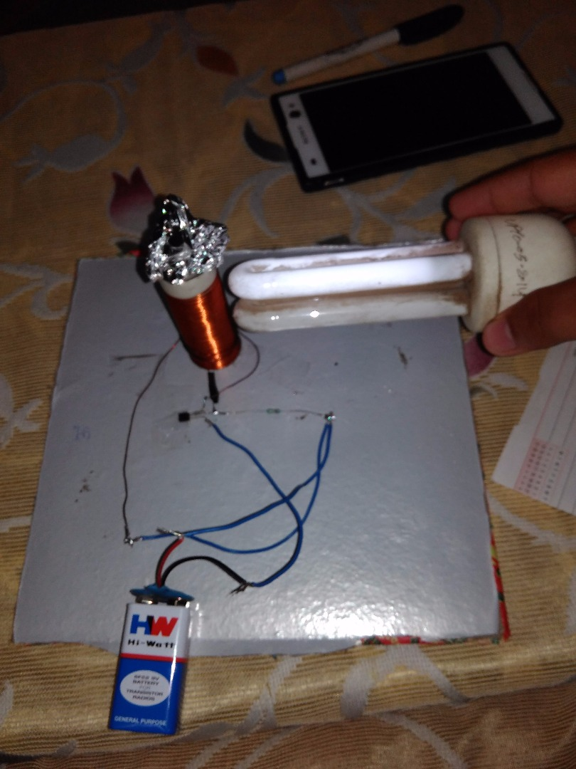 Picture of Easy Tesla Coil