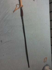 Umbrella Survival Walking Stick/Harpoon