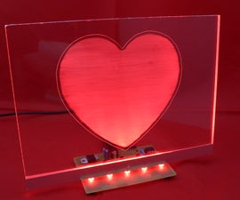 RGB LED Love Heart