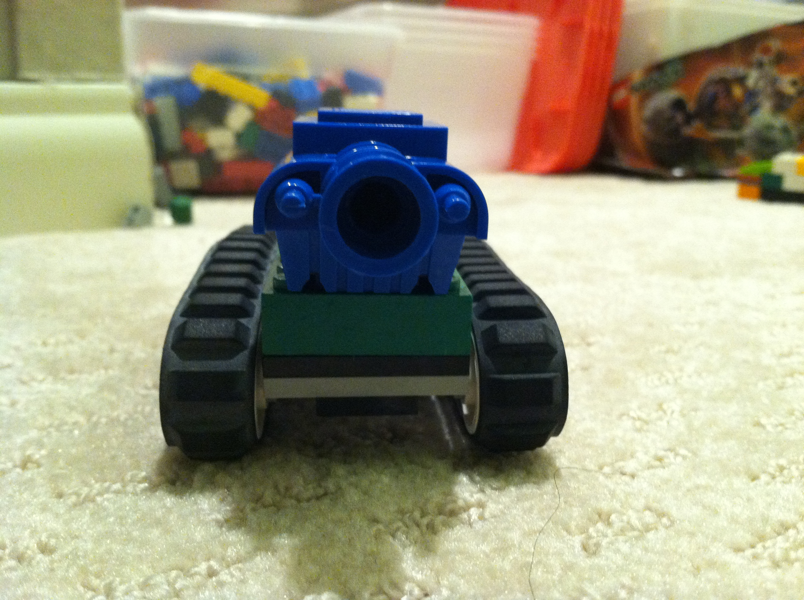 Picture of Lego Tank