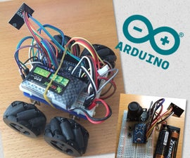 Simple RC Mecanum Wheels Robot Wif Arduino