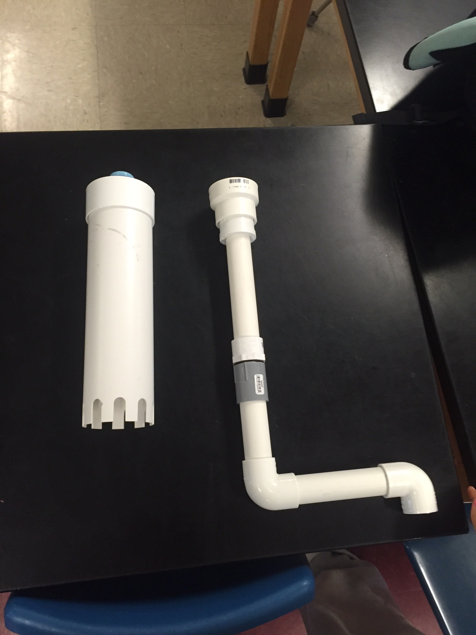 Picture of ASSEMBLE PIPES AND BELL SIPHON