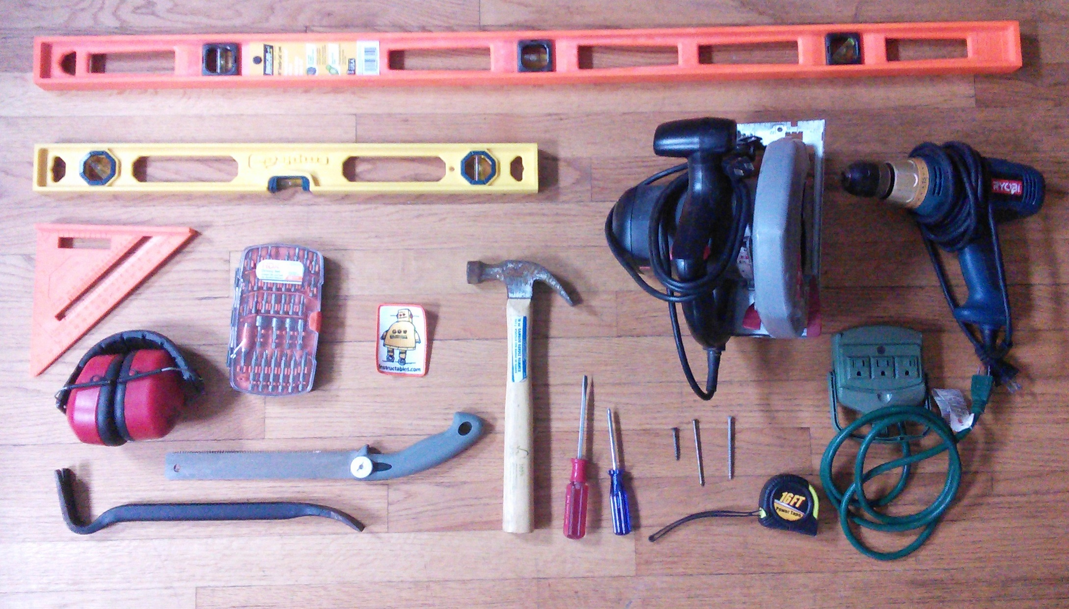 Picture of Materials + Tools
