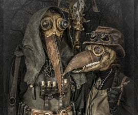 Steampunk Plague Doctor Costume