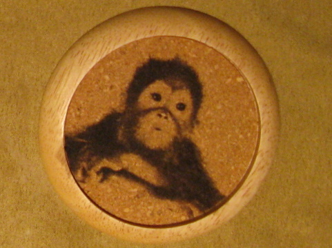 Picture of Laser Engraved Cork Coasters