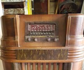 1942 Philco Radio Wine Bar