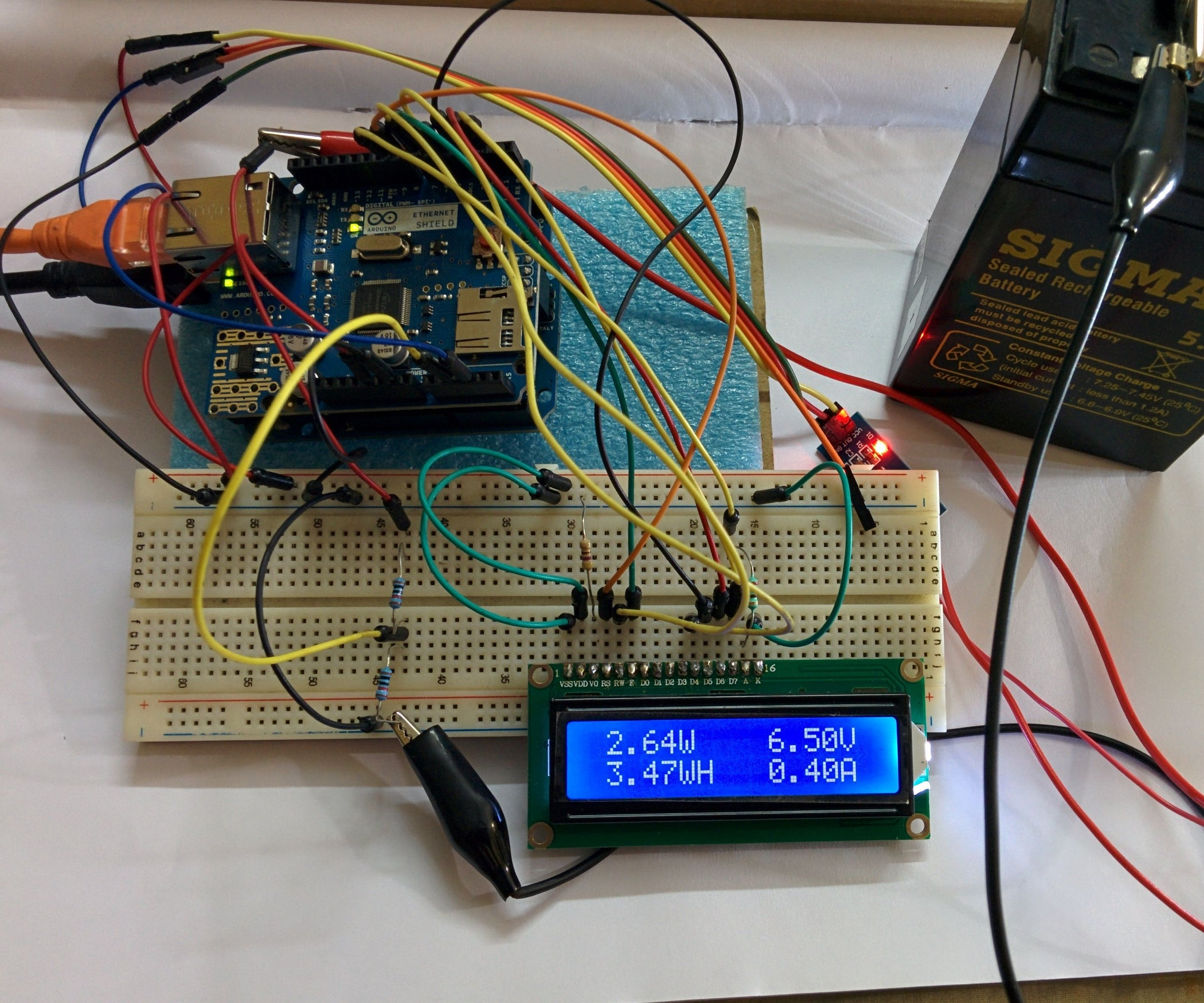 Arduino Energy Meter 10 Steps With Pictures Using Calculator Cob Tutorial Electronic Circuit Diagram