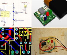 Circuit Planning: Create a Dual Flashing LED Circuit on Protoboard with 555 Timer