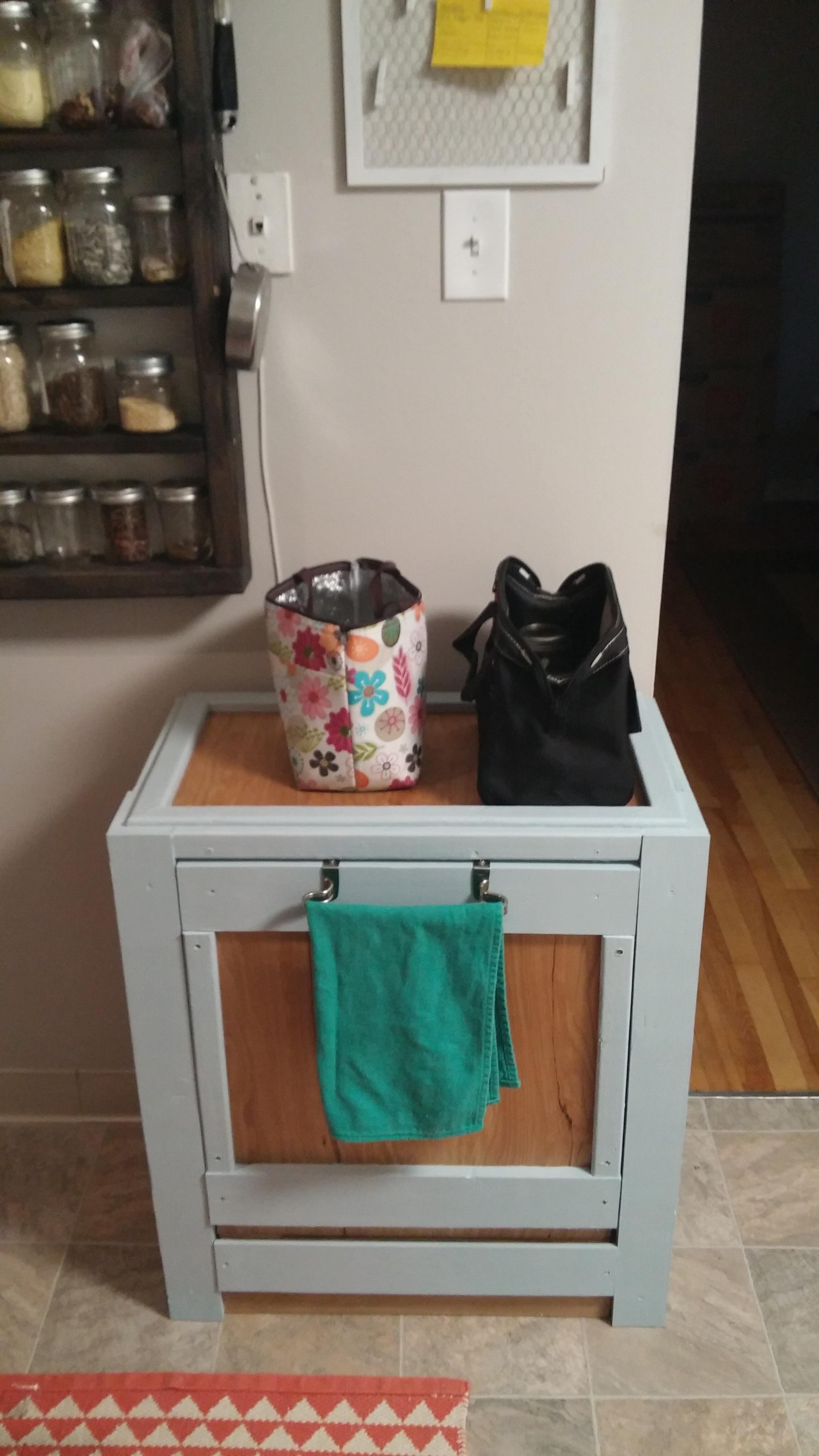 Picture of Tilt-out Trash Cabinet