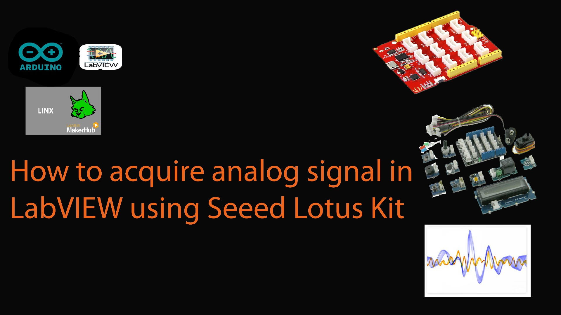 Picture of How to Read Analogue Signal in LabVIEW Using Arduino