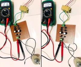 Dual Power Supply Circuit(+12V and -12V)