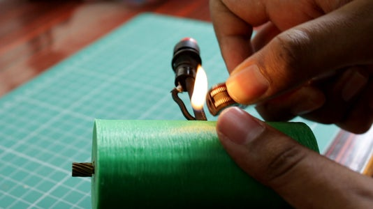 Soldering the Switch