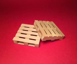 Mini Pallet Style Drink Coasters