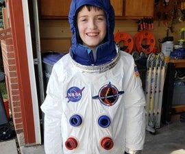 Super Easy Kids Astronaut Costume
