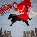 Easy Superhero Photo Booth