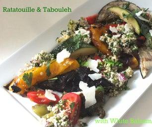 Ratatouille &Tabouleh