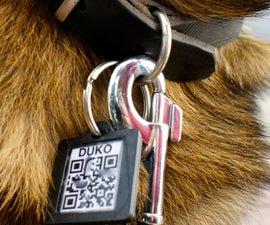 QR dog tag