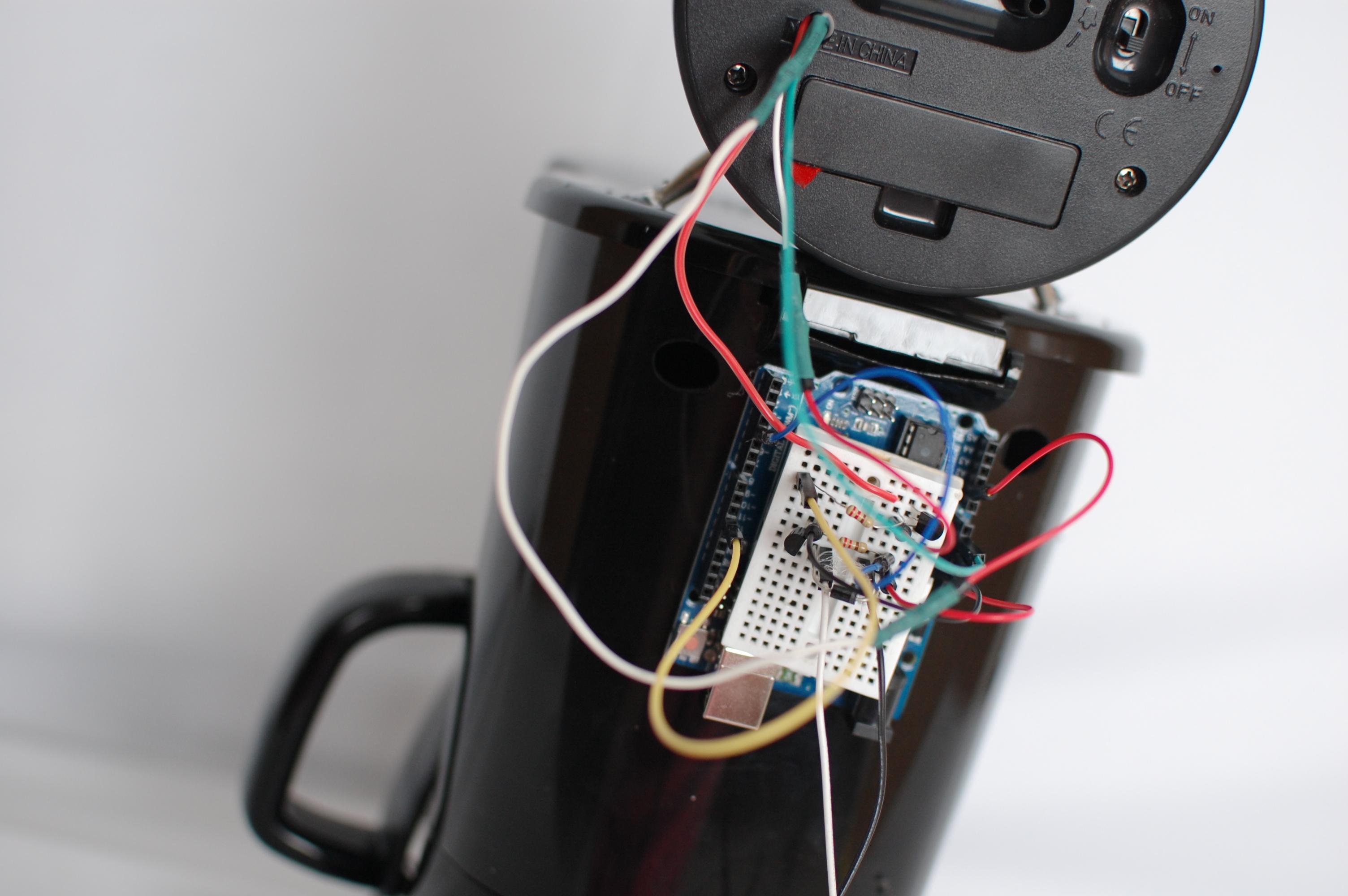 Picture of Coffee Pot Alarm Clock