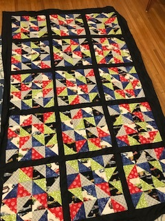 Picture of Triangle Patch Work Quilt