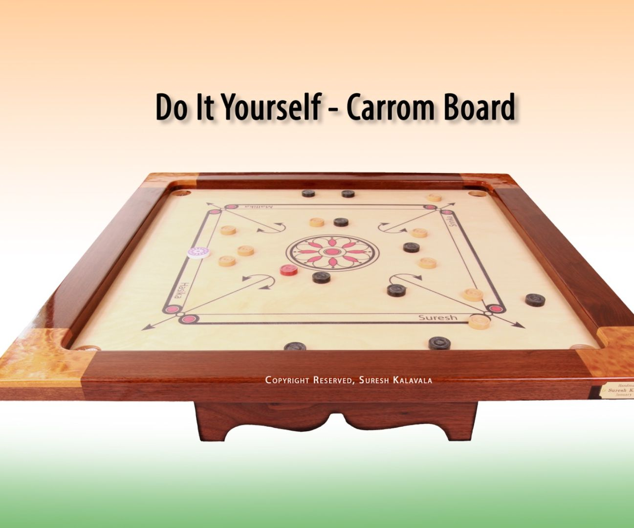 How to make your own diy carrom board indian board game solutioingenieria Gallery