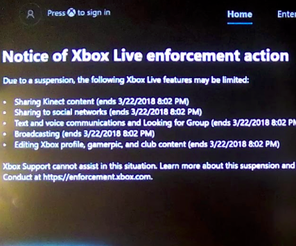 Bypassing Xbox One Communication Bans: 6 Steps