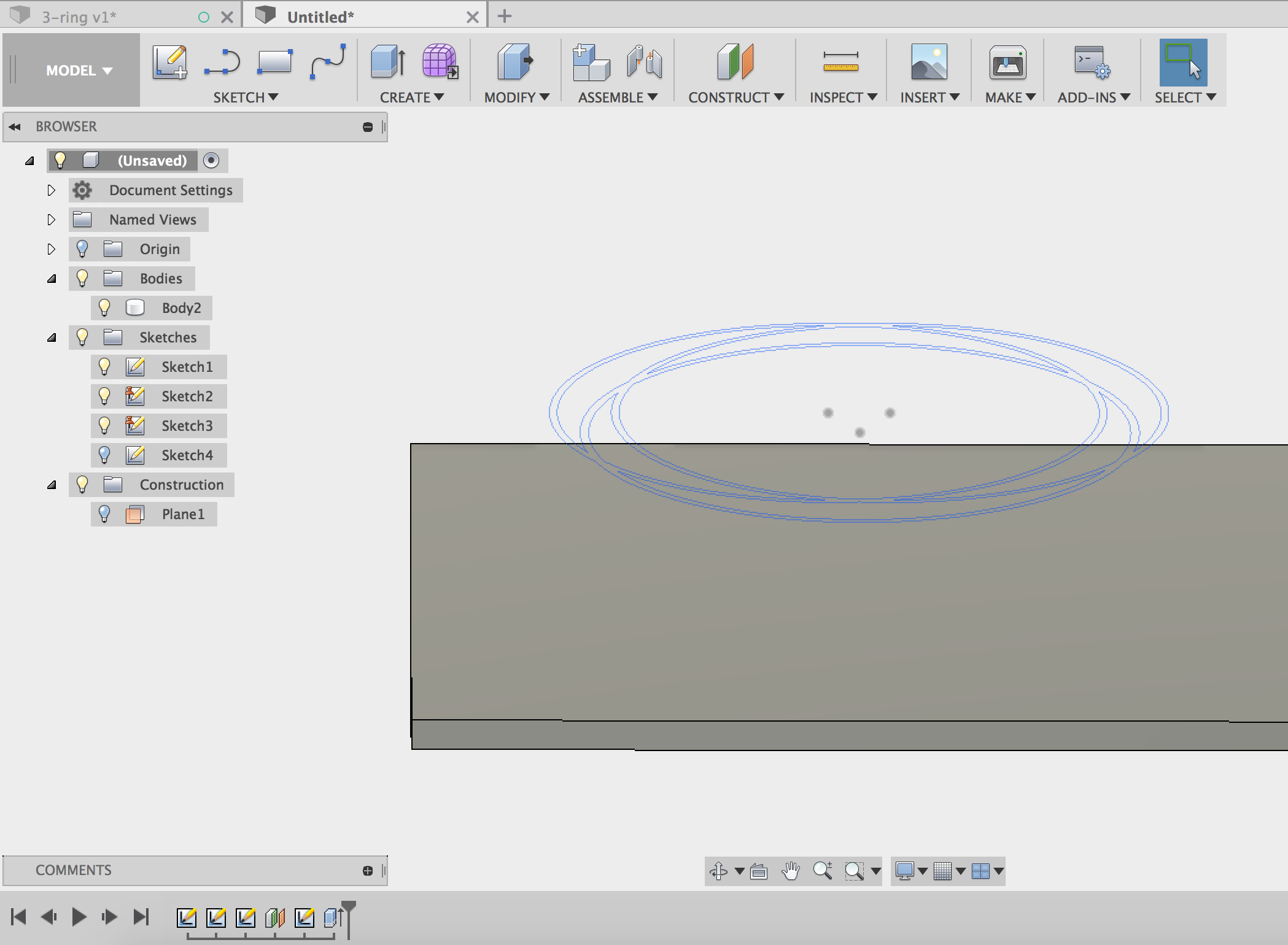 Picture of Create the Model for the Guitar Top Surface