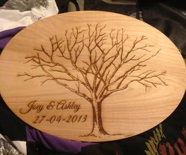 How To Create A Thumbprint Tree On A Laser Cutter