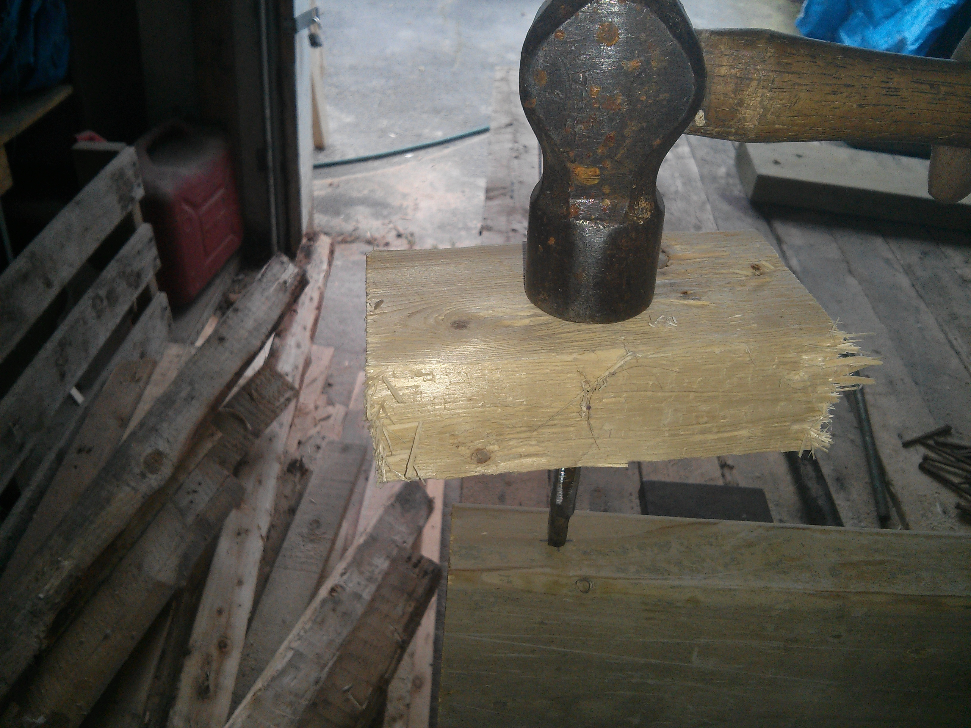 Picture of The Lathe Bed and Spindle