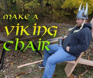 Make a Viking Chair With Hand Tools!