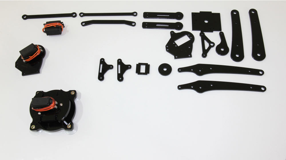 Picture of Shoulder Plate Servo Assembly