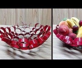 How to Make Fruit Basket || DIY Basket
