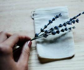 DIY Lavender Dryer Bags