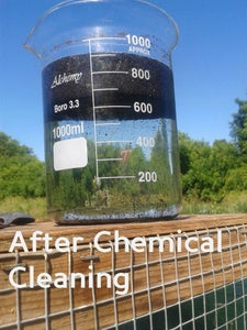 Wash With Chemicals and RO Water