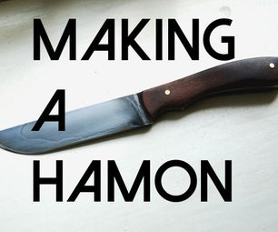 Making a Knife With a Japanese Hamon