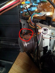 Remove Tape Motor From Circuit