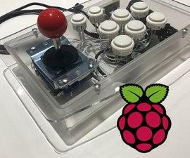 Raspberry Pi Inside Arcade Stick