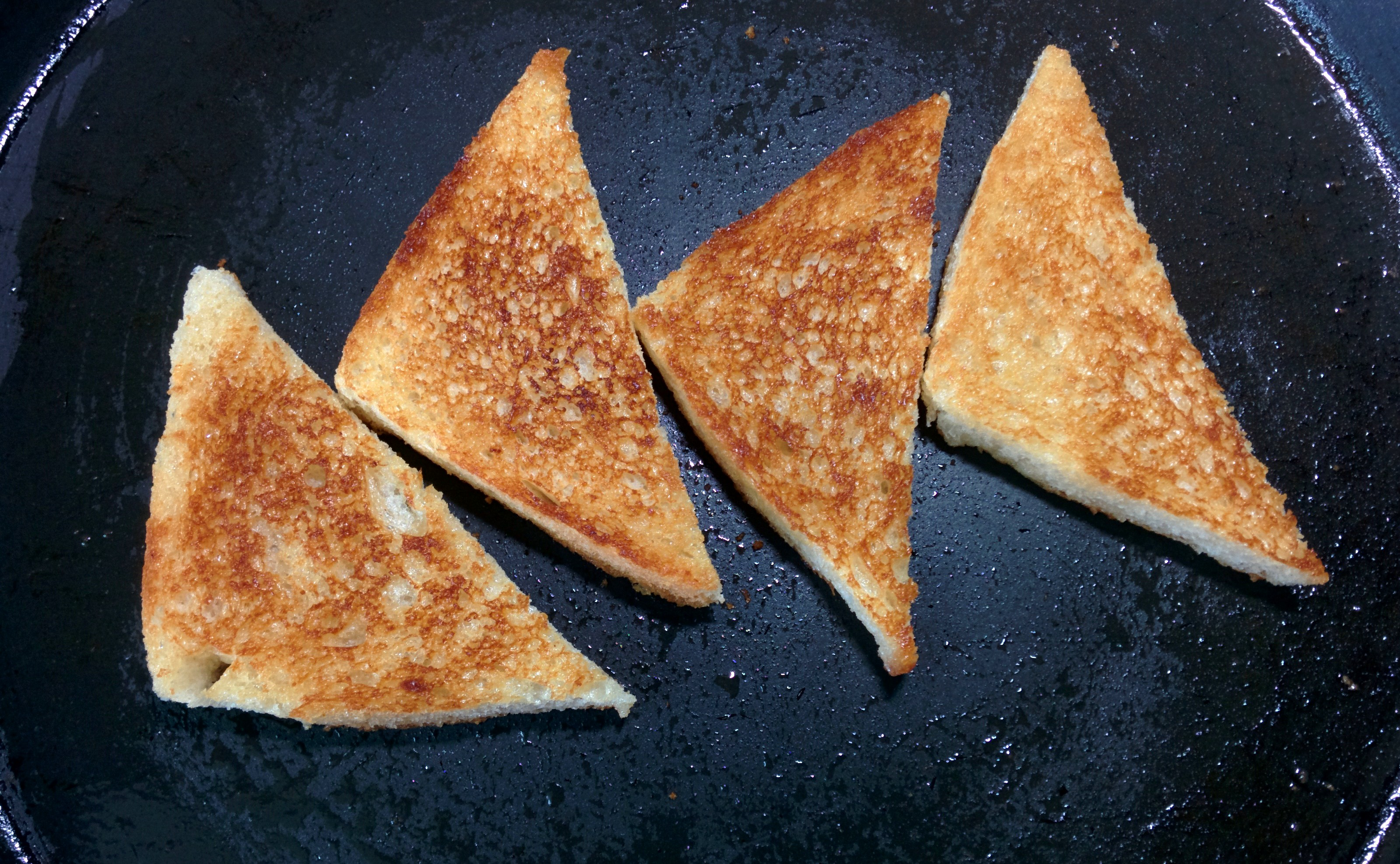 Picture of Frying the Bread