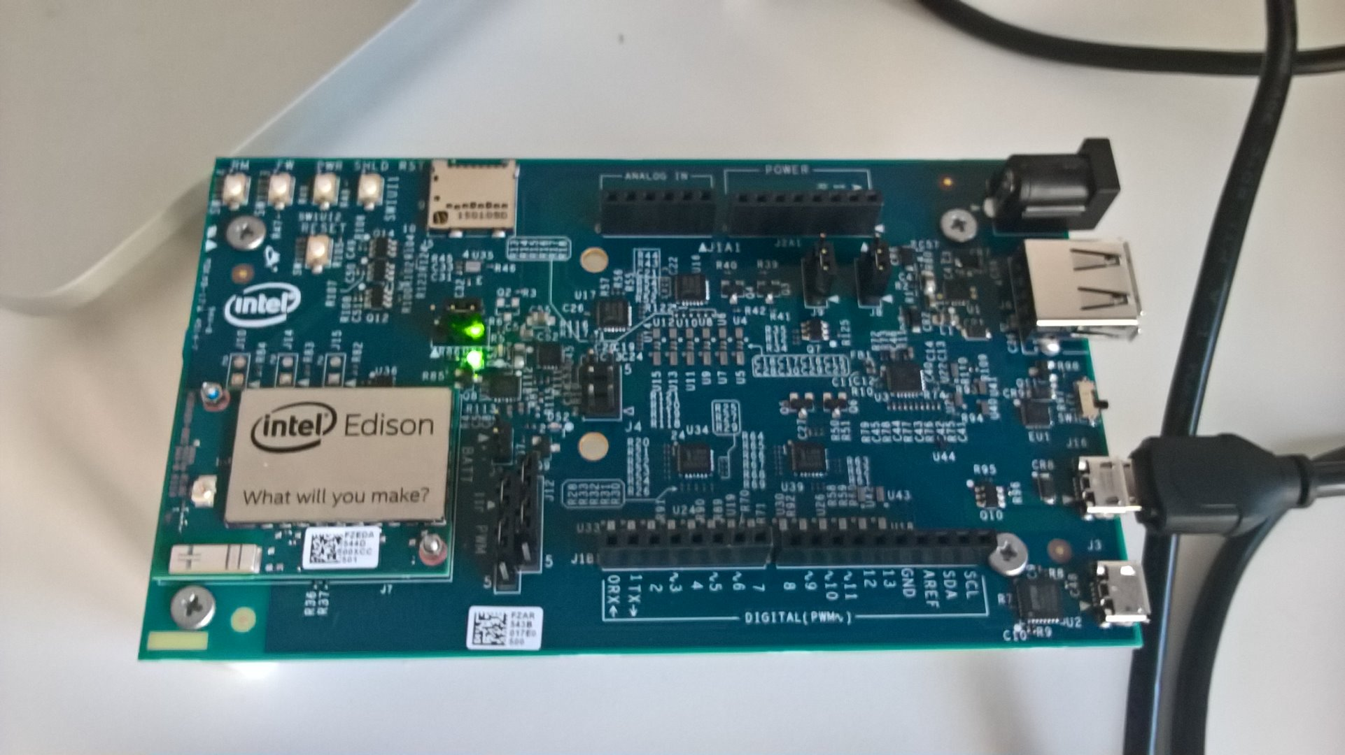 Picture of Install and Configure the Intel Edison