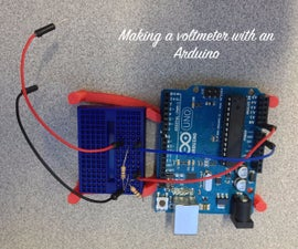 Voltmeter with Arduino