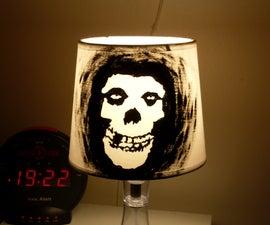 Misfits Skull Lamp