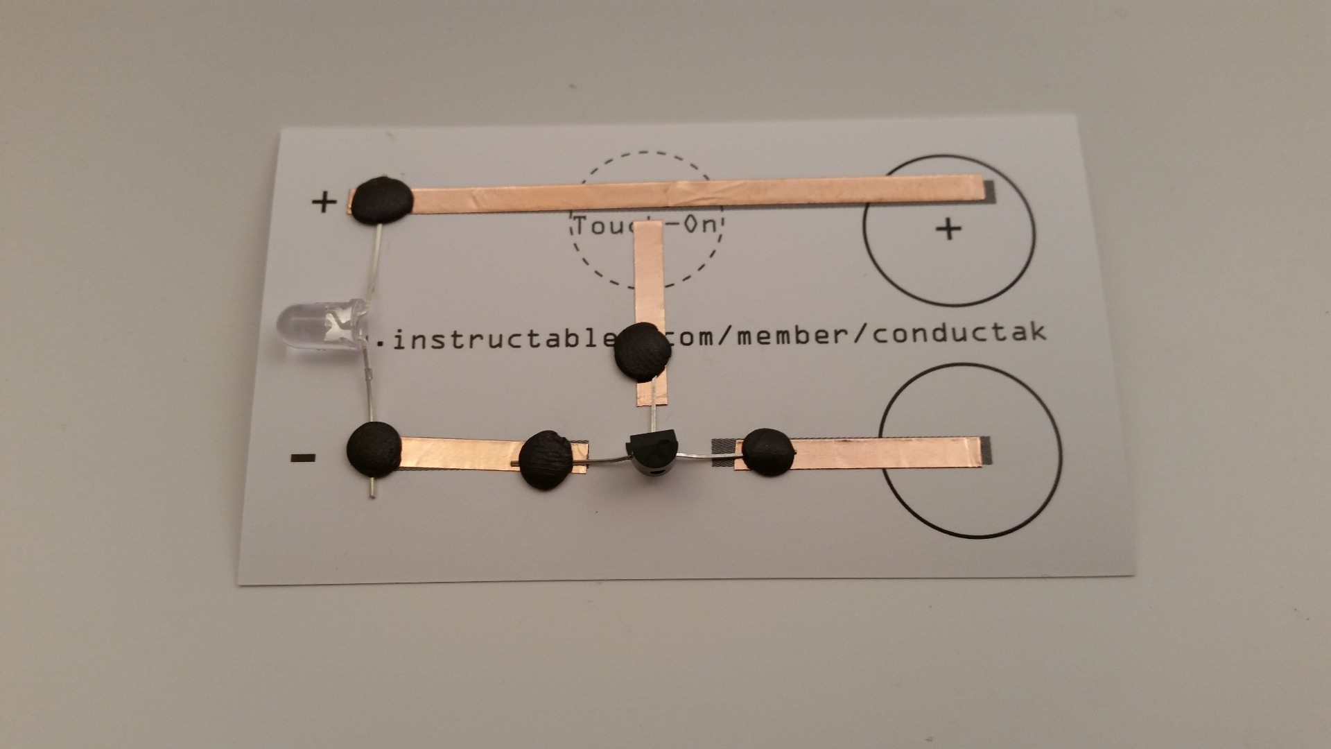Picture of Attach Transistor and Batteries