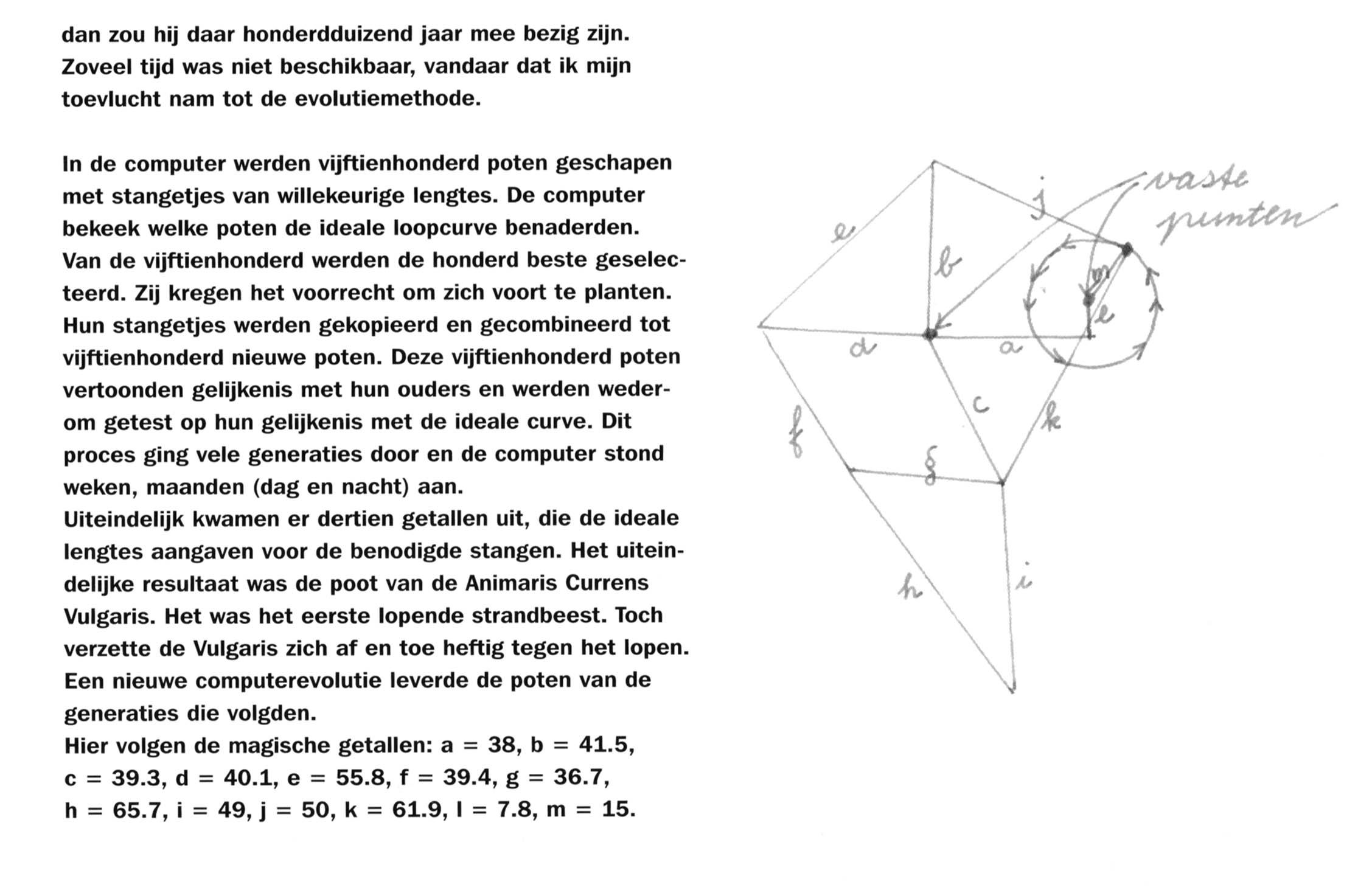 Picture of Theo jansen mechanism