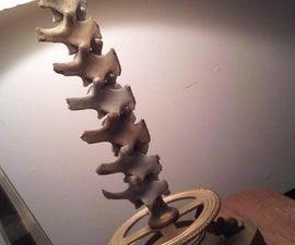Deer Bone Lamp