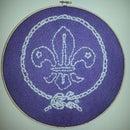 Scouts Fleur de lis - Sewing Project