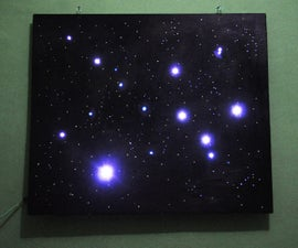Sky on the Wall (Mood Lighting-IR remote)